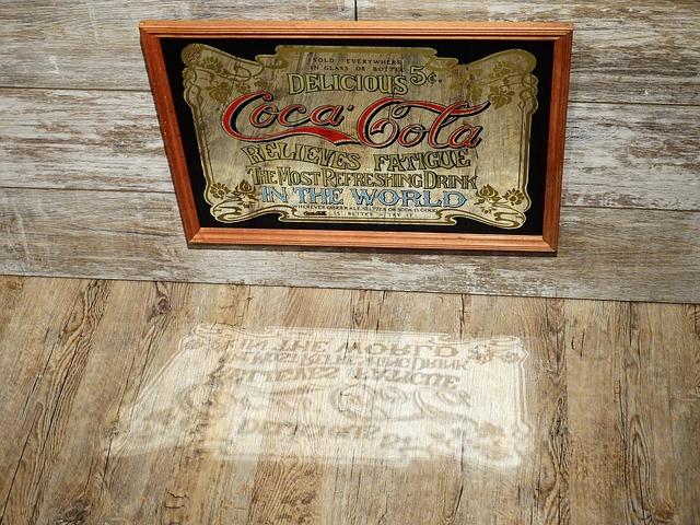 obraz coca cola