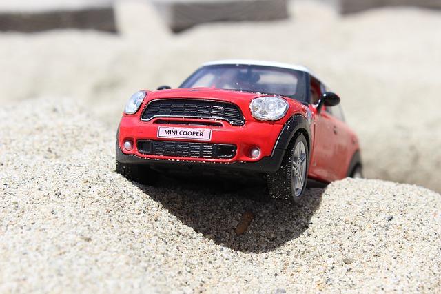 autíčko mini cooper