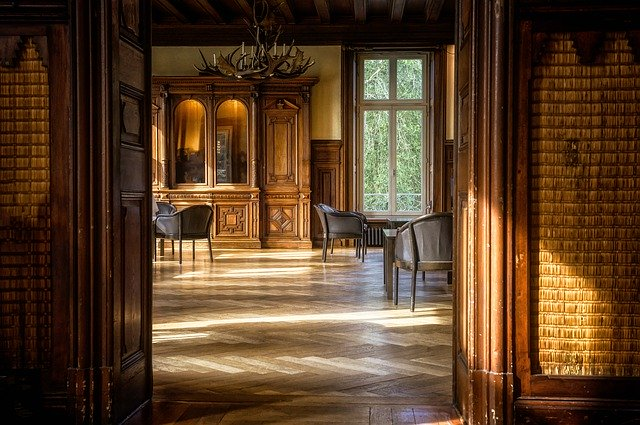 klasický interiér